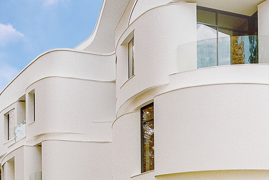 Descubre la subestructura de fachada invisible de Sto