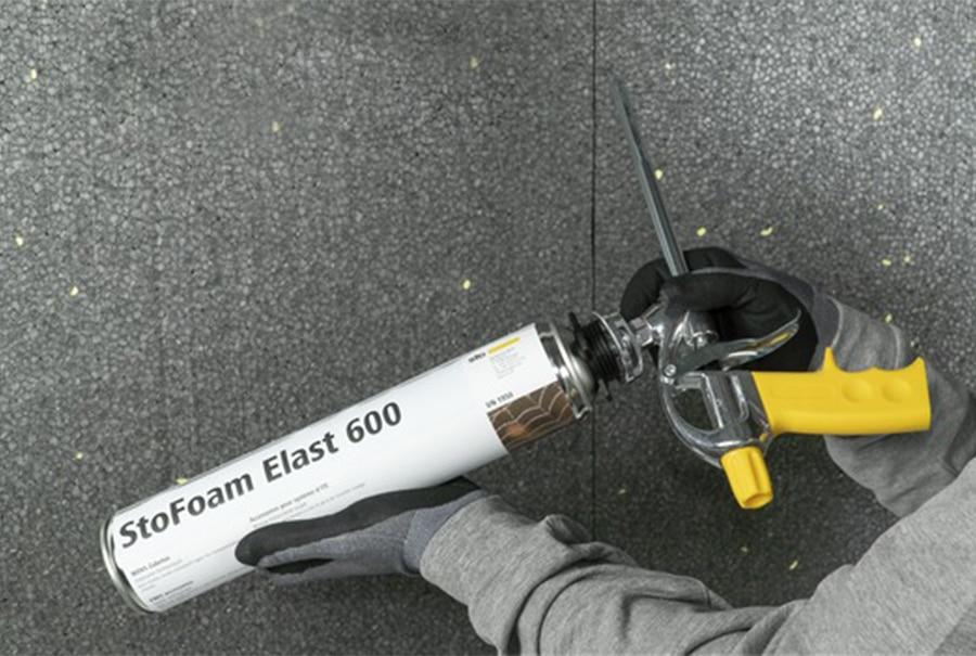 StoFoam Elast 600 es una espuma de sellado